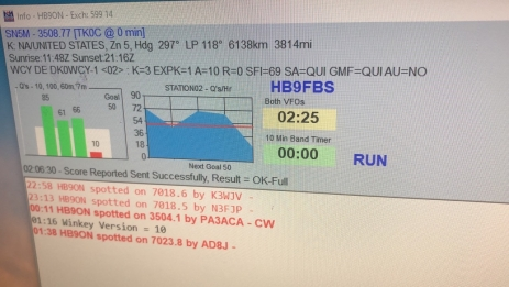 Contest CQWW HB9ON